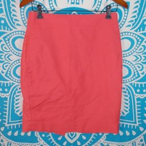 J Crew Pink Pencil Skirt Pinup Office Size 4